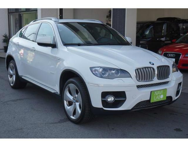 BMW アクティブハイブリッドX6 4WD サンルーフ Goo鑑定車