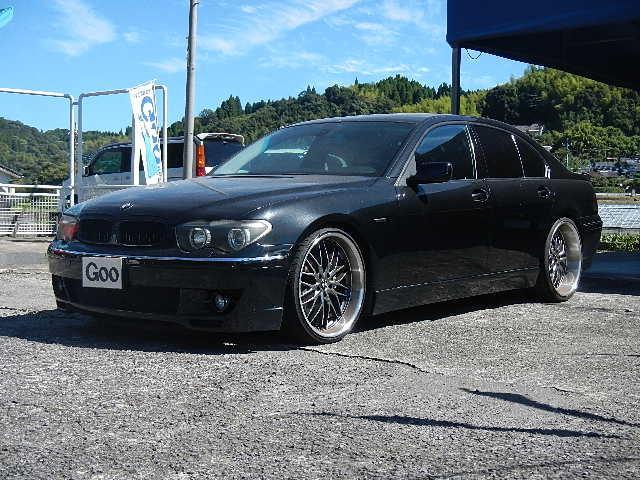 BMW 7シリーズ 735i ナビ パワーシート サンルーフ クリ...