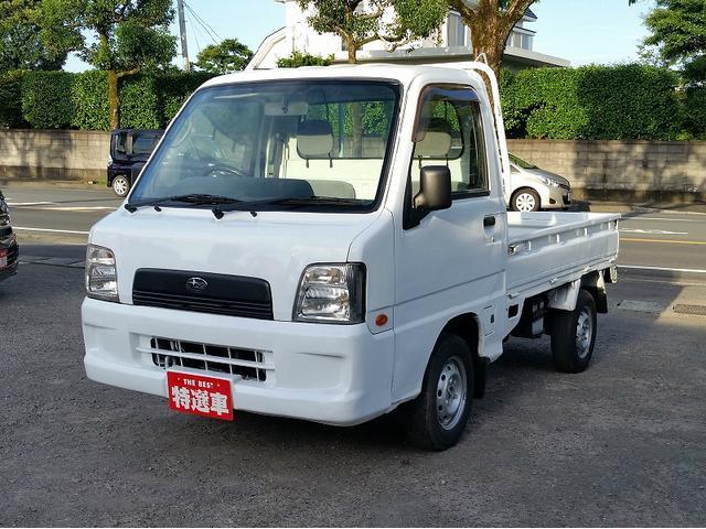 スバル サンバートラック TB 4WD パワステ エアコン (車検...