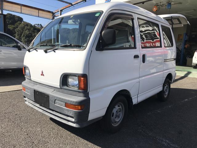 三菱 ミニキャブバン バン 車椅子 電動リフトアップ車 (車検整備付)