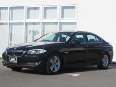 BMW528i認定中古車 レザーシート ワンオーナー