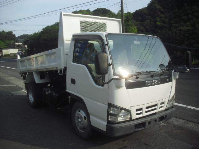 いすゞ エルフトラック 3トンダンプ 4ナンバー 塗装済 4800...
