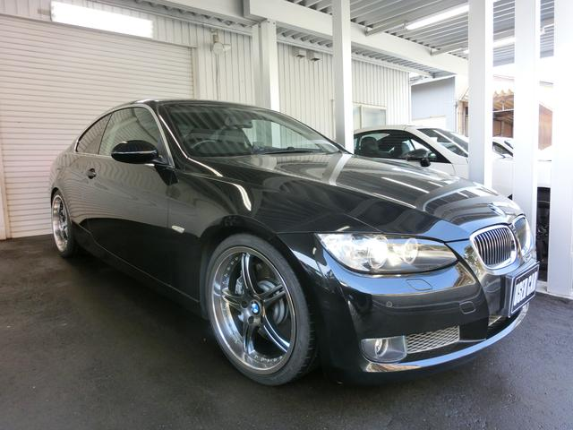 BMW 3シリーズ 335i 黒革シート 社外19AW キセノン ...