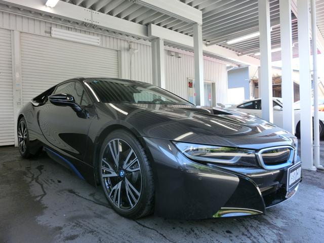 BMW i8 i81オーナー ピュアインパルスP ダルベキアブラウ...