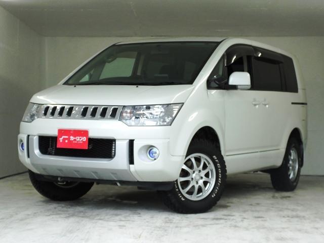 三菱 デリカD:5 M 4WD 新品ストラーダナビTVブルートゥー...