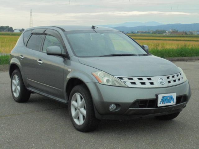 日産 350XV FOUR 4WD 禁煙車 黒革シート ETC