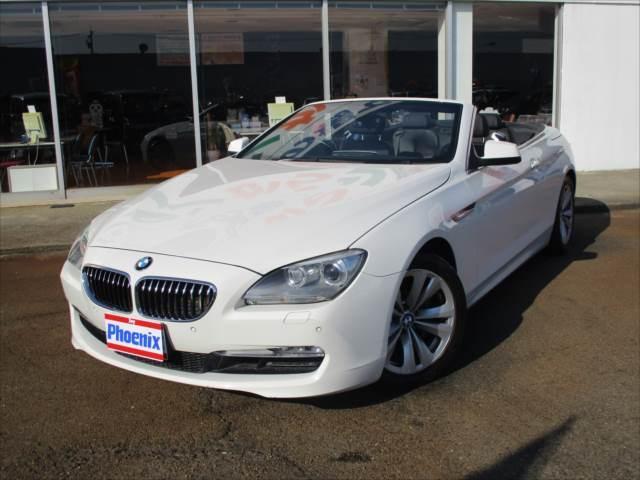 BMW 6シリーズ 640iカブリオレメーカー10.2インチフルセ...