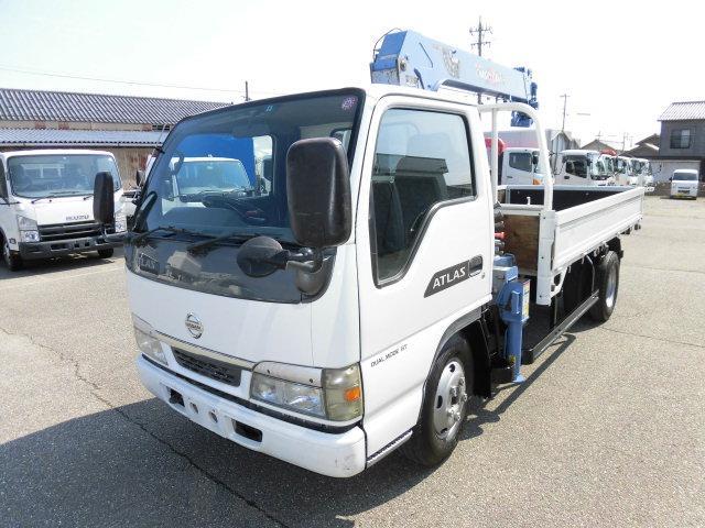日産 アトラストラック 4段クレーン (なし)