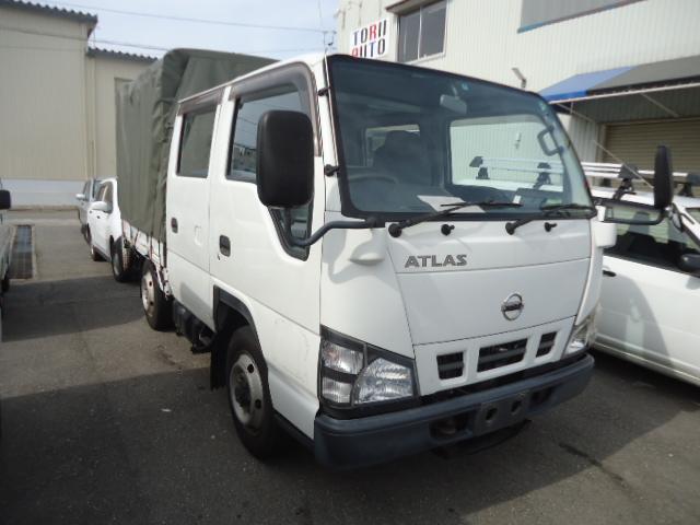 日産 アトラストラック Wキャブ 4WD パワーゲート付 (なし)