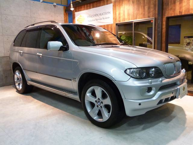BMW X5 3.0iスポーツパッケージ 後期 本革 腰下同色 (...