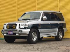 パジェロワイド エクシード 背面タイヤ ナビ 4WD