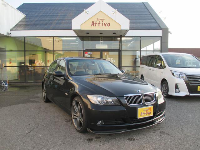 BMW 3シリーズ 323i ベージュ本革シート HIDヘッドライ...