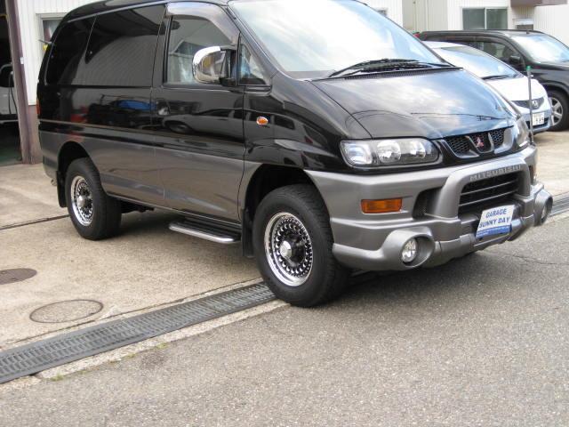 三菱 デリカスペースギア シャモニー・4WD (車検整備付)
