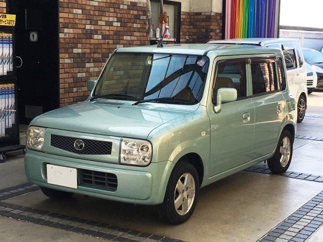 マツダ スピアーノ X 4WD CDMD アルミ (検29.10)