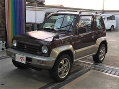 パジェロジュニアZR−II 4WD 5MT ナビ 社外アルミ