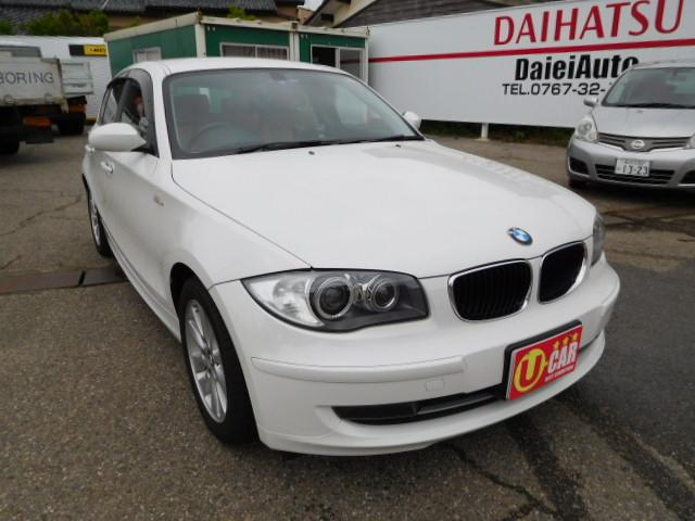 BMW 1シリーズ 116i 本革シート 社外ナビ フルセグTV ...