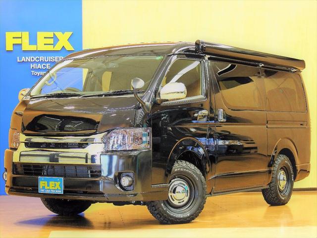 トヨタ 4WD サイドオーニング