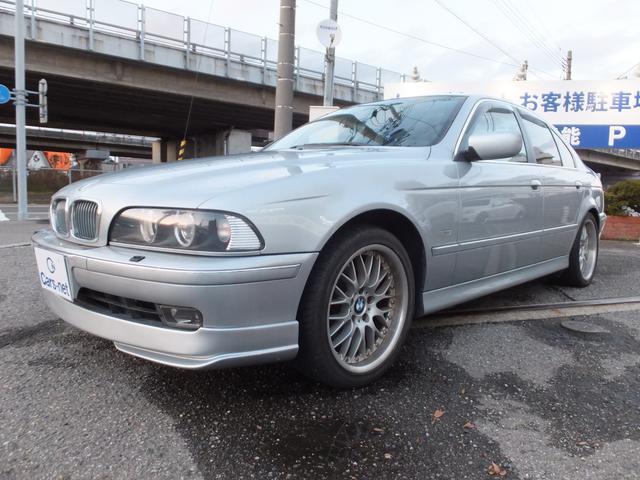 BMW 5シリーズ 540i ハイライン 左H サンルーフ 黒革シ...