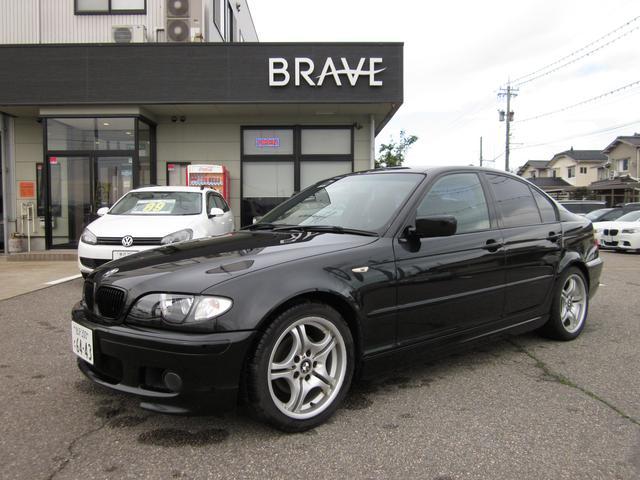 BMW 3シリーズ 318i Mスポ E46最終後期 モール黒塗装...