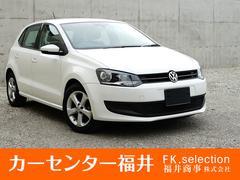 VW ポロTSIコンフォートライン ワンオーナー車、SDナビ、TV