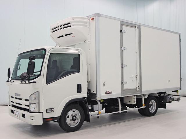 いすゞ エルフトラック 冷凍バン 2t 150ps 菱重 ゲート付...