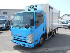エルフトラック冷蔵冷凍車サーモキング2エバ2室中温 サイドドア