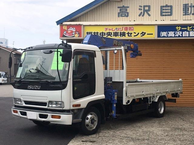 いすゞ タダノ4段クレーン吊り2.93t フックイン ラジコン付