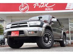ハイラックスサーフSSR−X Vセレクション 4WD 社外SDナビ 背面レス