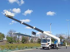 ヒノレンジャー高所作業車 作業高27m 180PS