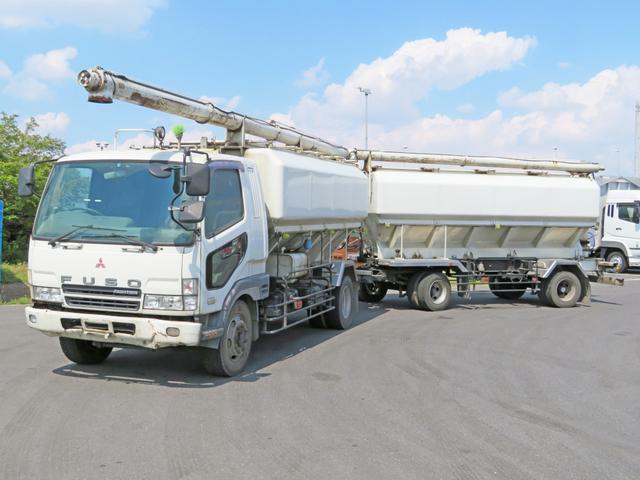 三菱ふそう 飼料運搬車 7.5t 240PS フルトレ牽引用