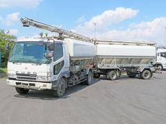 ファイター飼料運搬車 7.5t 240PS フルトレ牽引用