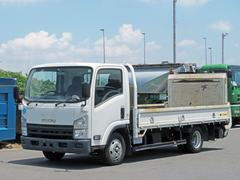 エルフトラック平ボディー 2t 150ps ワイド・ロング・ゲート付