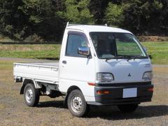 ミニキャブトラック4WD パワステ付き 三方開き