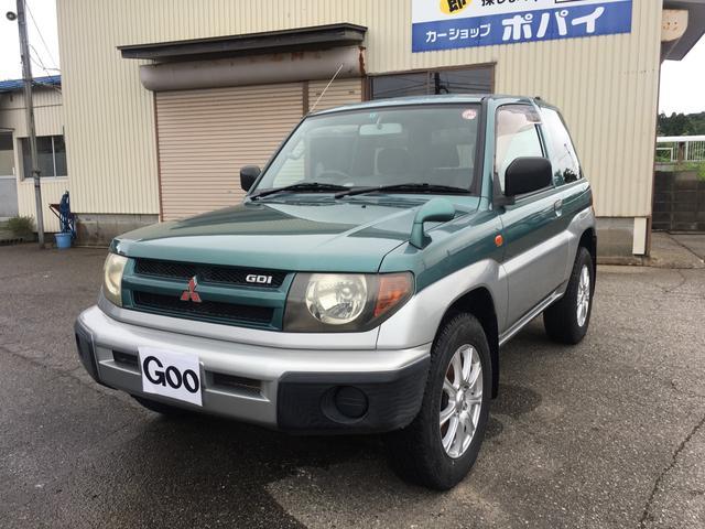 三菱 パジェロイオ ZR 4WD 社外CD付 (車検整備付)