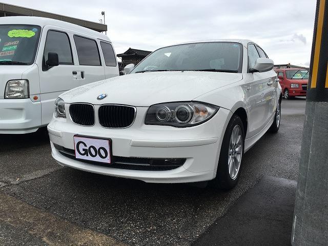 BMW 1シリーズ 116i ナビ ETC (車検整備付)