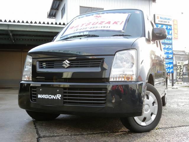 人気のワゴンR!!人気のブラック!!4WD!!ABS!キーレス!WSRS!シートヒーター!CDデッキ!