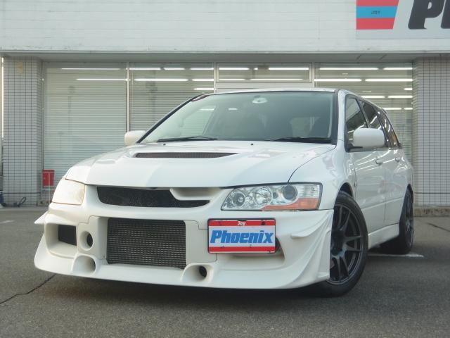 三菱 ランサーワゴン エボリューションGT4WD 6速MT車高調マ...
