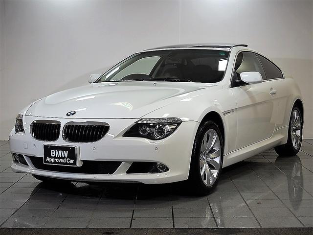 BMW 6シリーズ 630i地デジ サンルーフ PDC (車検整備付)