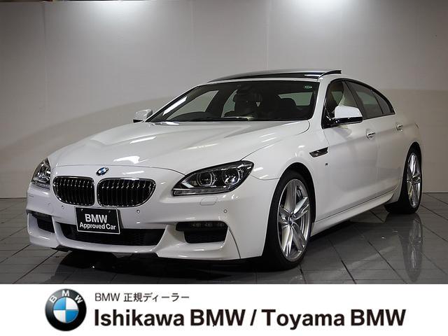 BMW 6シリーズ 640iグランクーペ Mスポーツ 黒レザー ガ...