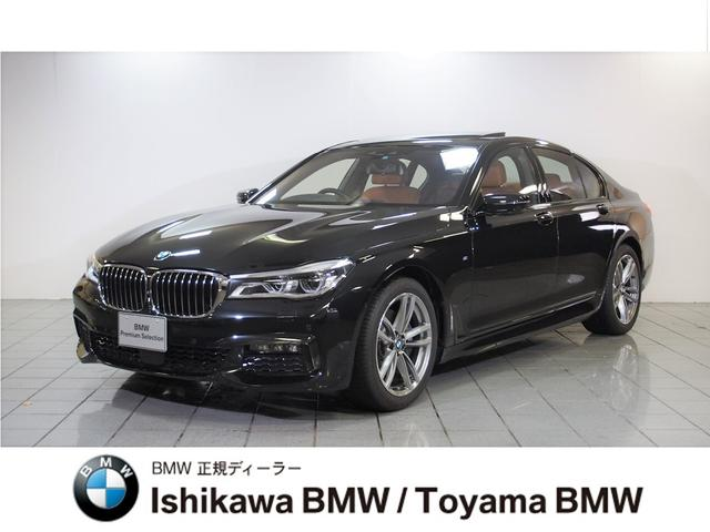 BMW 7シリーズ 740i Mスポーツ 元デモカー サンルーフ ...