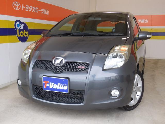 トヨタU−carブランド3つの安心☆T−Value☆キーレスエントリー、純正アルミ、フルエアロ、HIDライト、ABS!