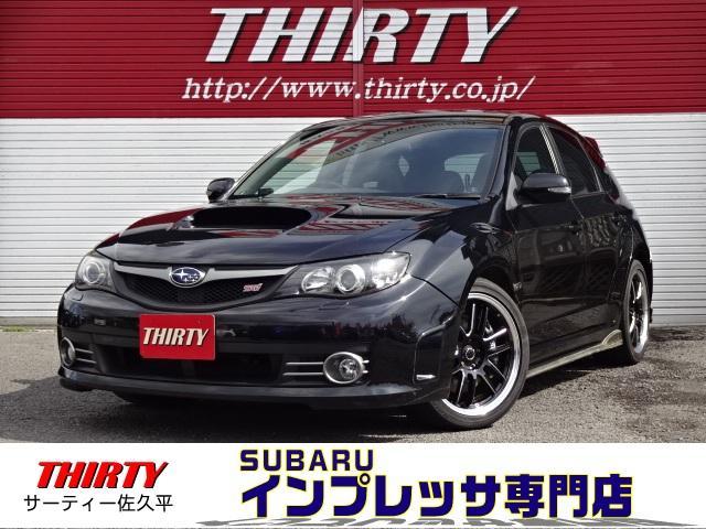 スバル WRX STi4WD 社外マフラー HDDナビ 純正レカロ