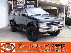 テラノV6−3000 ワイドR3M スポーツレカロ 4WD 5MT