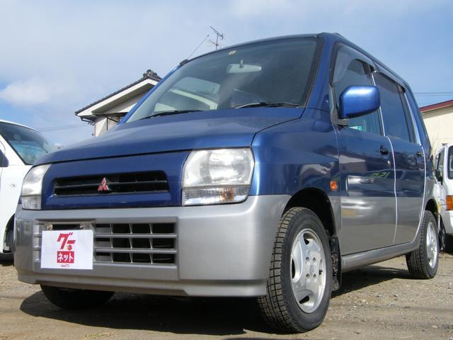 三菱 4WD キーレス CD アルミ タイミングベルト交換済