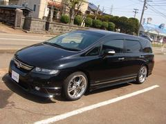 新潟の中古車 ホンダ オデッセイ 車両価格 149万円 リ済別 平成18年 3.4万K ブラックM