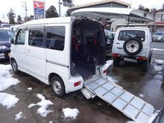 新潟県の中古車ならアトレーワゴン カスタムターボR スローパー 車椅子固定装置付き ターボ
