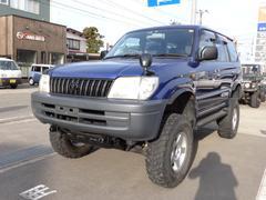 新潟県の中古車ならランドクルーザープラド TS 4WD サンルーフ リフトアップ