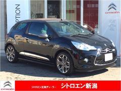 新潟県の中古車ならシトロエン DS3カブリオ スポーツシック 試乗車 新車保証 レザーシート