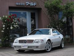 M・ベンツSL600黒革シート 電動幌 OPウッドパネル・ステアリング