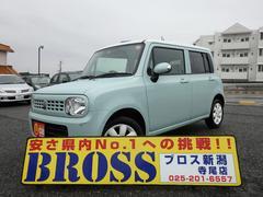 新潟県の中古車ならアルトラパン X スマートキー 純正アルミ 純正CDデッキ ベンチシート
